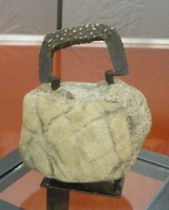 Annette Hilbrecht Stone Handbag