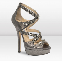 Jimmy Choo Silver Anthracite