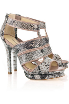 Alexandre Birman Snake Leather