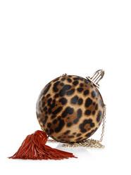 Christian Louboutin leopard handbag