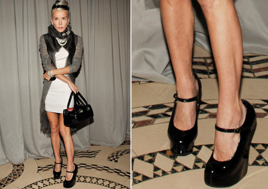 daphne guinness shoes. Number 4 : Daphne Guinness