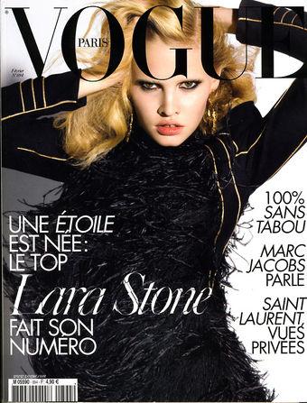 Lara Stone Vogue