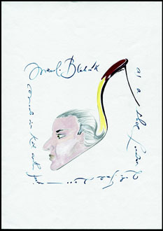 Manolo Blahnik Drawings Self Portrait