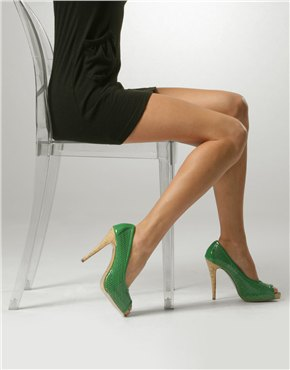 Green Shoes Chair