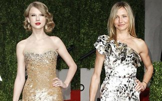 Taylor Swift and Cameron Diaz Oscars 2011