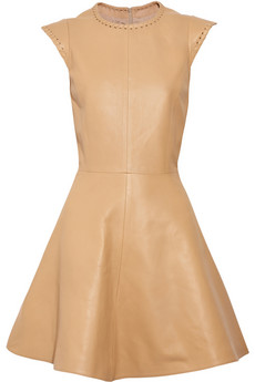 Chloé's nude dress leather