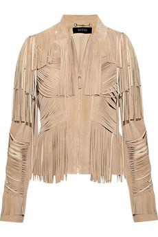 Gucci 2011 Fringe suede jacket