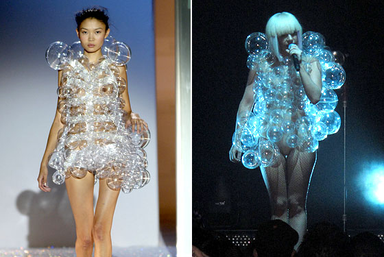 Plastic Babble Dress by Lady Gaga