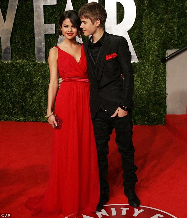 Jastin Bieber and Selena Gomez Oscars 2011