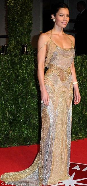 Jessica Biel Oscars 2011