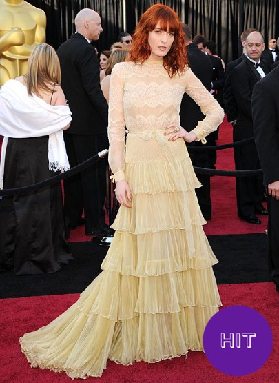 FLORENCE-WELCH Oscars 2011