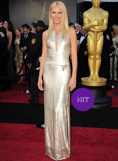 GWYNETH-PALTROW Oscars 2011