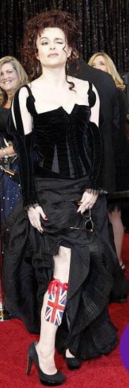 Helena Bonham Carter Oscars 2011