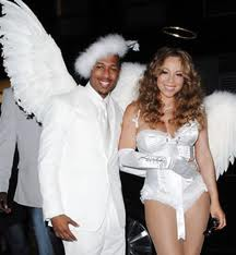 Mariah Carey Haloween Angel