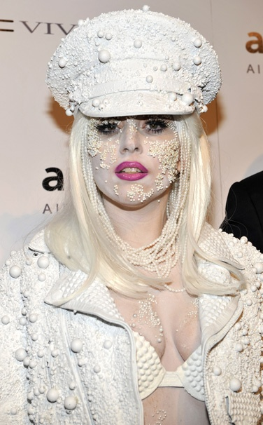 Lady Gaga in White