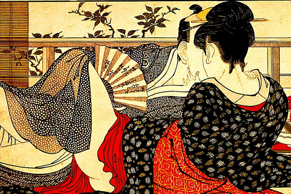 japanese love drawing