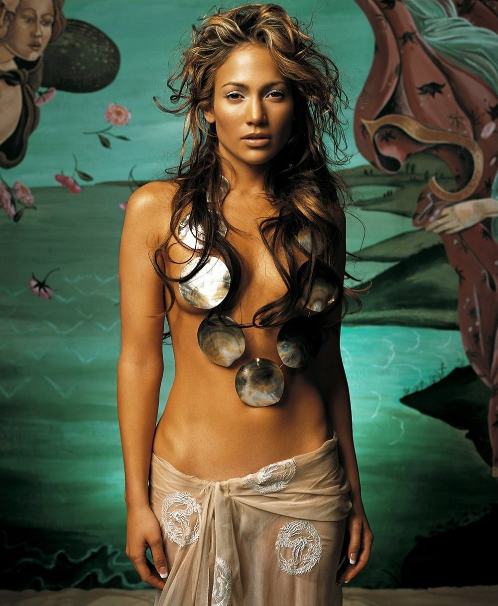 Jennifer Lopez, Halloween Mermaid