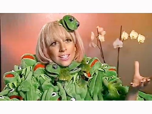 Kermit the Frog, Lady Gaga