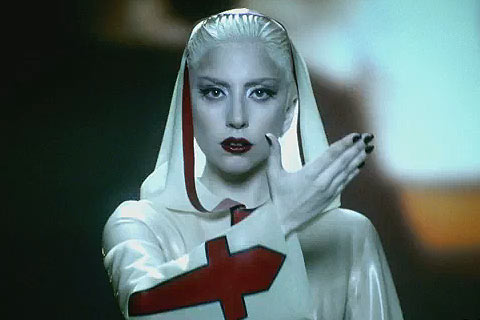 Lady Gaga Crusader Alejandro