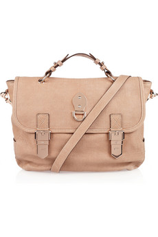 Mulberry Tillie blush textured-leather bag with rose gold hardware