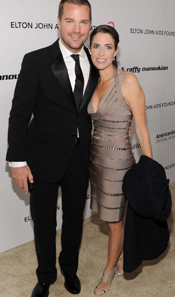 Chris O'Donnell and Caroline Fentress Oscars 2011