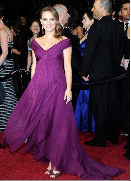 Nataly Portman Oscars 2011