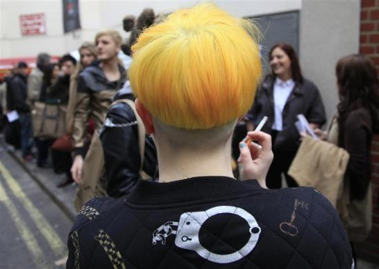 Yellow Hair Halloween