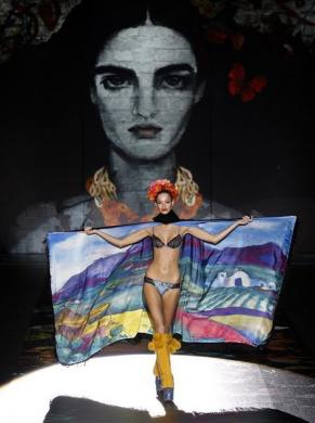 Spanish designer Andres Sarda, Cibeles Madrid Fashion Week Fall/Winter 2011 show, Madrid