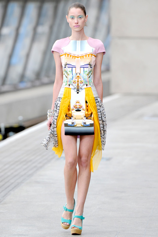 Mary Katrantzou Dress Spring- Summer 2011