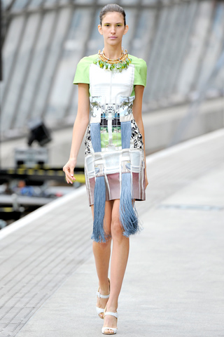 Mary Katrantzou Dress Runway  Spring- Summer 2011