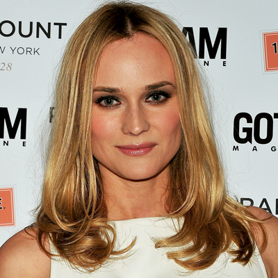 Diane Kruger Hair and makeup