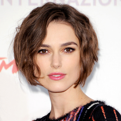 Keira Knightly Sort bob Hair