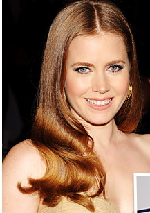 Amy Adams Hair and makeup