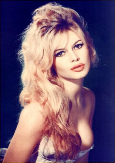 Brigitte Bardot hair and makeup