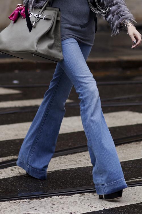 Flare Jeans Hermes Handbag