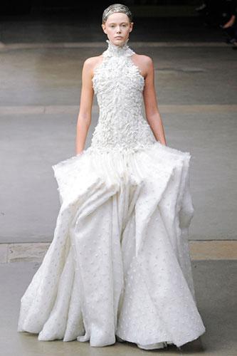 Alexander McQueen, Wedding Dress, Priness Style, 2011