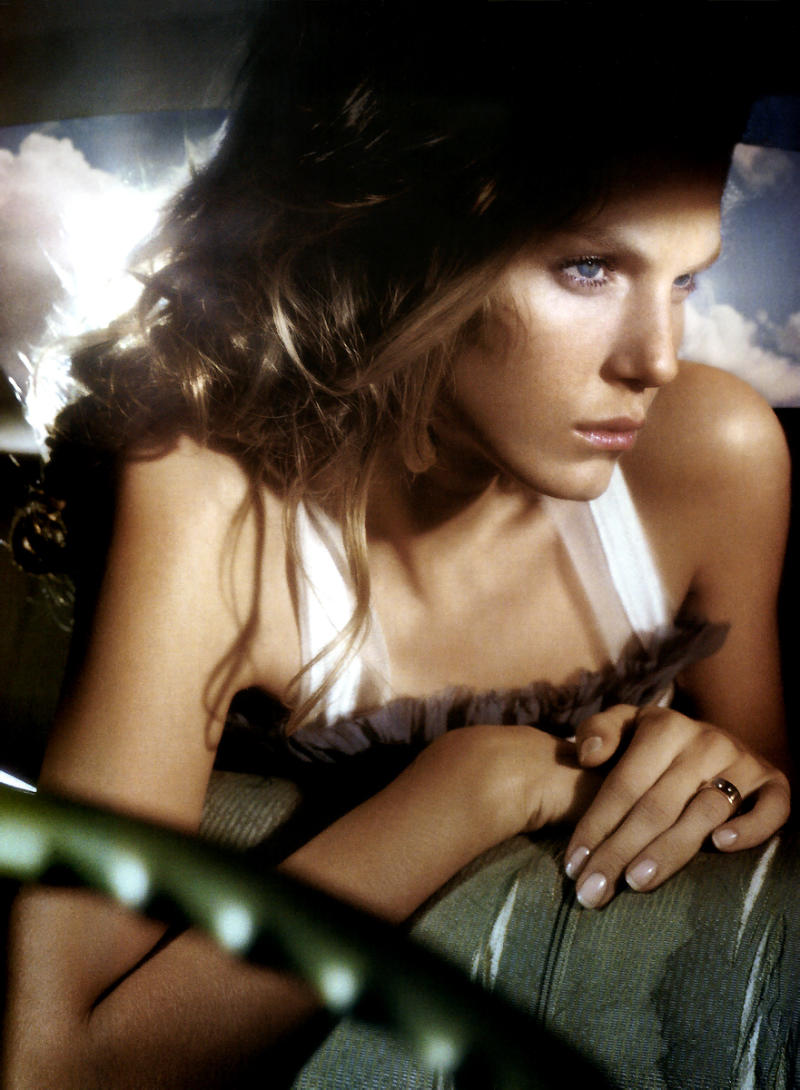 Angela Lindvall photographed by Vincent Peters