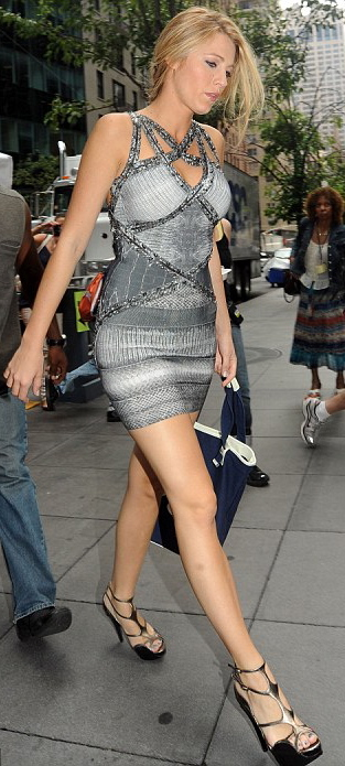 Blake Lively Grey Dress Shoes