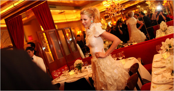 Blake Lively 2011 Dinner Chanel White Dress