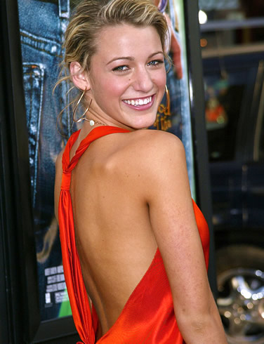 Blake Lively Hair and Make-up