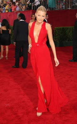 Blake Lively Red Dress Shoes