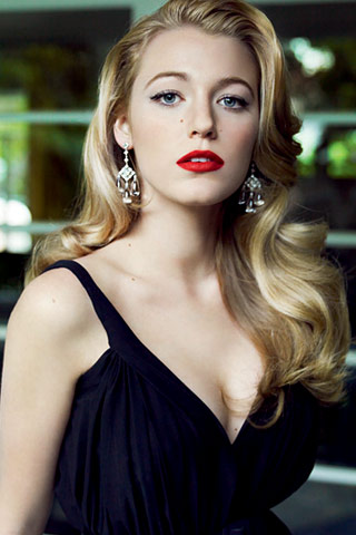 Blake Lively Make-up