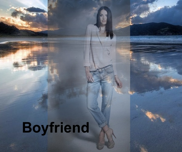 Boyfriend Jeans, J Brand, Collage by Nina Papaioannou