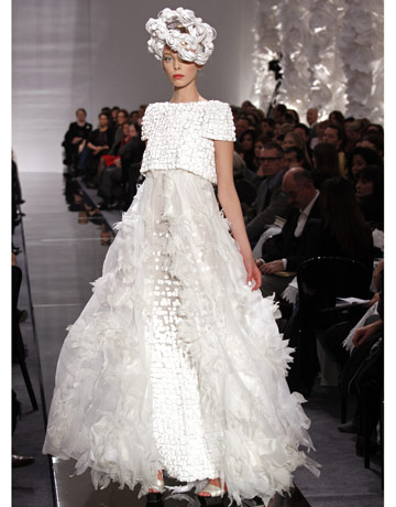 Chanel Coutoure, Classic Wedding Dress