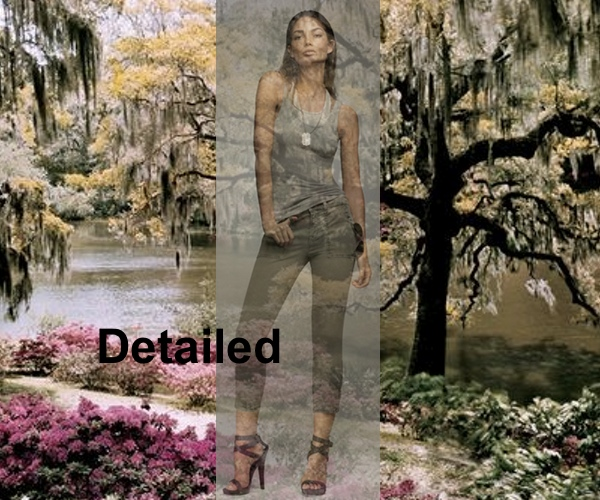 Detailed  Jeans, J Brand, Collage by Nina Papaioannou
