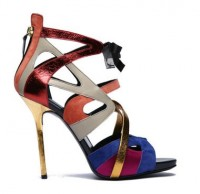 Diego-Dolcini 2011 Sandal Blue orange gold