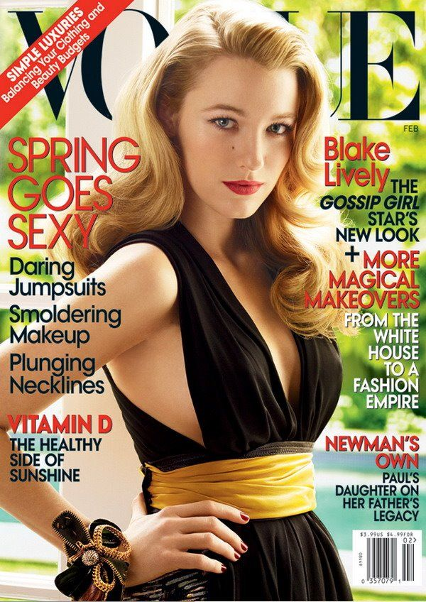 Vogue Cover Blake Lively