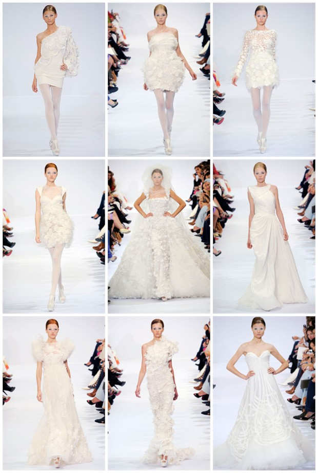 Elie Saab, Wedding Gown trends, 2011