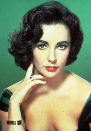 Elizabeth Taylor hair makeup
