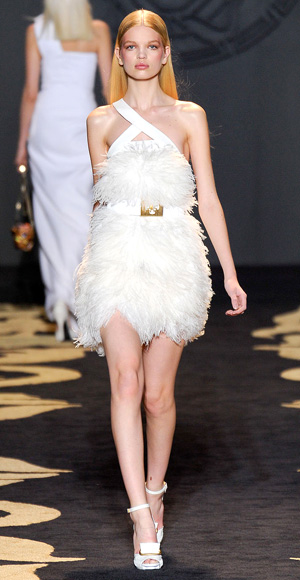 Mini Wedding Dress, Versace, 2011
